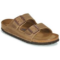Sapatos Mulher Chinelos Birkenstock ARIZONA SFB Castanho