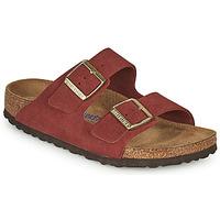 Sapatos Mulher Chinelos Birkenstock ARIZONA SFB Vermelho