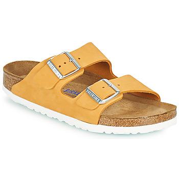 Sapatos Mulher Chinelos Birkenstock ARIZONA SFB Laranja