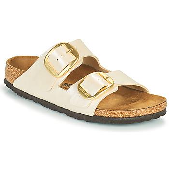 Sapatos Mulher Chinelos Birkenstock ARIZONA BIG BUCKLE Branco