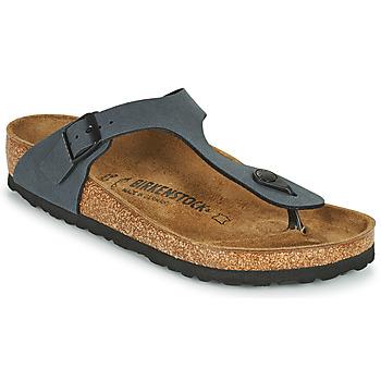 Sapatos Mulher Chinelos Birkenstock GIZEH Cinza