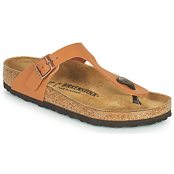 Sapatos Mulher Chinelos Birkenstock GIZEH Castanho