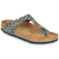 Sapatos Mulher Chinelos Birkenstock GIZEH Azul