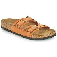Sapatos Mulher Chinelos Birkenstock GRANADA SFB Laranja