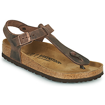 Sapatos Mulher Chinelos Birkenstock KAIRO Castanho