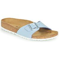 Sapatos Mulher Chinelos Birkenstock MADRID Azul