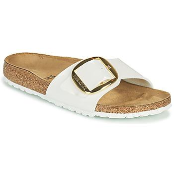 Sapatos Mulher Chinelos Birkenstock MADRID BIG BUCKLE Branco