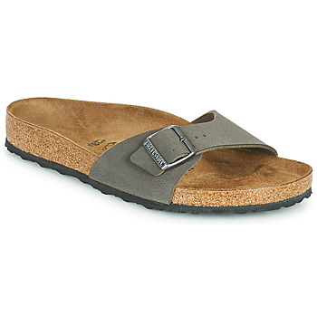 Sapatos Homem Chinelos Birkenstock MADRID Cinza