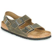 Sapatos Homem Sandálias Birkenstock MILANO Cáqui