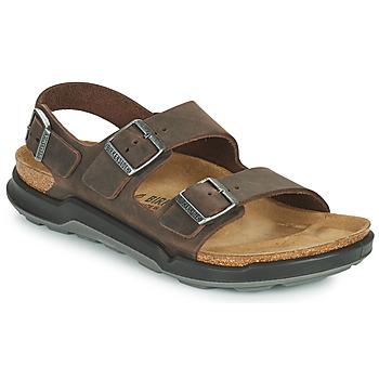 Sapatos Homem Sandálias Birkenstock MILANO CT Castanho