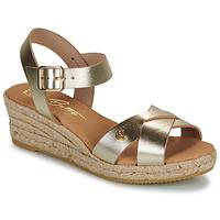 Sapatos Mulher Sandálias Betty London GIORGIA Ouro
