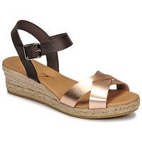 Sapatos Mulher Sandálias Betty London GIORGIA Castanho / Cru
