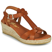 Sapatos Mulher Sandálias Betty London OBORSEL Conhaque