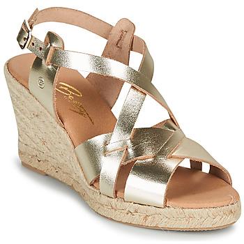 Sapatos Mulher Sandálias Betty London OSAVER Ouro