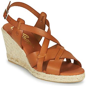 Sapatos Mulher Sandálias Betty London OSAVER Camel