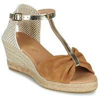Sapatos Mulher Sandálias Betty London OREINOA Camel