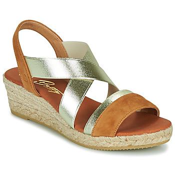 Sapatos Mulher Sandálias Betty London OLINDRE Conhaque