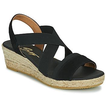 Sapatos Mulher Sandálias Betty London OLINDR Preto