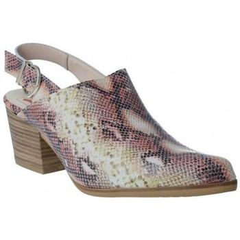Sapatos Mulher Tamancos Calzados Vesga Zueco Campero y Tejanos para Mujeres de Melcris 6511 Rosa
