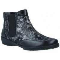 Sapatos Mulher Botins Suave 3025 Botines Tobilleros de Mujer Preto