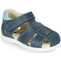 Sapatos Rapaz Sandálias Citrouille et Compagnie OLISS Azul