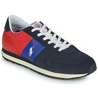 Sapatos Homem Sapatilhas Polo Ralph Lauren TRAIN 85-SNEAKERS-ATHLETIC SHOE Marinho / Vermelho