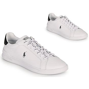 Sapatos Sapatilhas Polo Ralph Lauren HRT CT II-SNEAKERS-ATHLETIC SHOE Branco / Preto