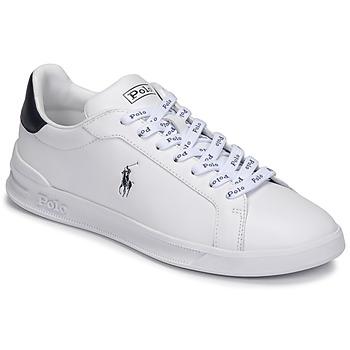 Sapatos Homem Sapatilhas Polo Ralph Lauren HRT CT II-SNEAKERS-ATHLETIC SHOE Branco / Marinho