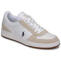Sapatos Homem Sapatilhas Polo Ralph Lauren POLO CRT PP-SNEAKERS-ATHLETIC SHOE Branco