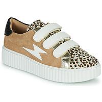 Sapatos Mulher Sapatilhas Vanessa Wu BK2206LP Bege / Leopardo