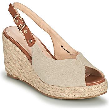 Sapatos Mulher Sandálias Vanessa Wu SD2238BG Bege / Castanho