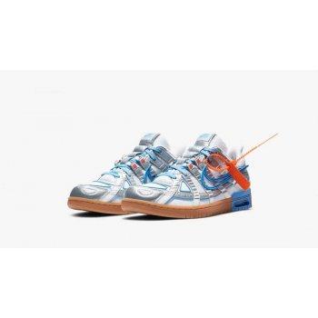Sapatos Sapatilhas Nike Air Rubber Dunk UNiversity blue x Off White White/University Blue-White