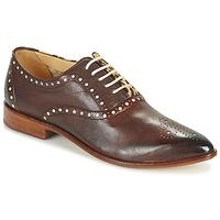 Sapatos Mulher Sapatos Melvin & Hamilton JESSY 61 Castanho
