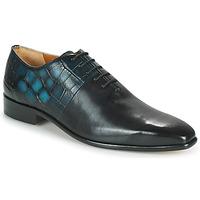 Sapatos Homem Richelieu Melvin & Hamilton LANCE 61 Preto / Azul