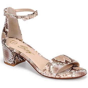 Sapatos Mulher Sandálias Betty London INNAMATA Bege