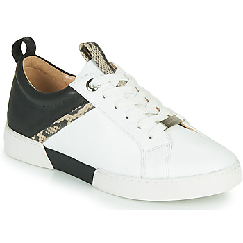Sapatos Rapariga Sapatilhas JB Martin GELATO Branco / Preto