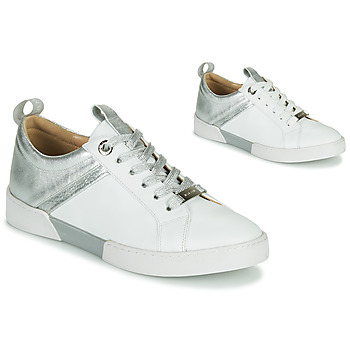 Sapatos Rapariga Sapatilhas JB Martin GELATO Branco / Prata