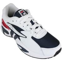 Sapatos Mulher Sapatilhas Fila mindblower wmn white/navy/red Azul