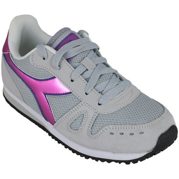 Sapatos Rapariga Sapatilhas de corrida Diadora simple run gs girl 65010 Rosa