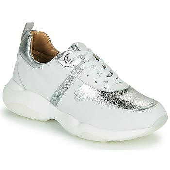 Sapatos Mulher Sapatilhas JB Martin WILO Branco / Prata