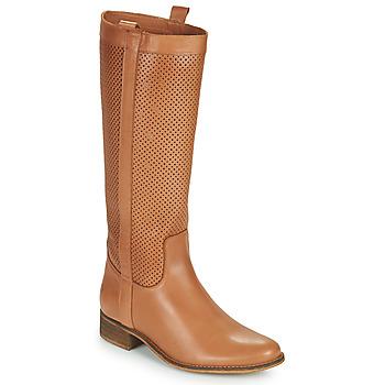 Sapatos Mulher Botas Betty London ONEVER Conhaque