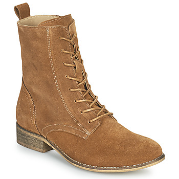 Sapatos Mulher Botas baixas Betty London ORYPE Conhaque