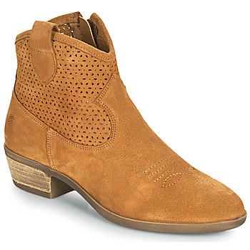 Sapatos Mulher Botas baixas Betty London OGEMMA Conhaque