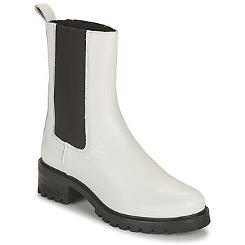 Sapatos Mulher Botas baixas Betty London OLANDI Branco