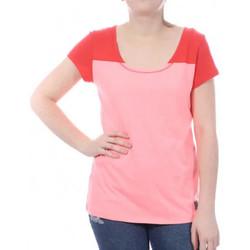 Textil Mulher T-Shirt mangas curtas Millet  Rosa