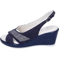 Sapatos Mulher Sandálias Adriana Del Nista Sandálias BJ08 Azul