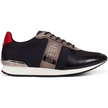 Sapatos Homem Sapatilhas Ed Hardy - Mono runner-metallic black/gunmetal Preto