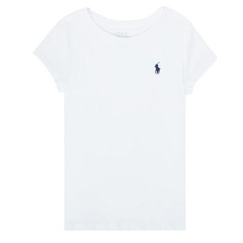 Textil Rapariga T-Shirt mangas curtas Polo Ralph Lauren ZALLIE Branco