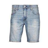 Textil Homem Shorts / Bermudas Levi's 411 Slim Short Azul