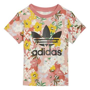 Textil Rapariga T-Shirt mangas curtas adidas Originals DREZZI Multicolor